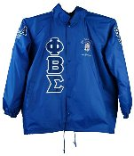 Phi Beta Sigma Customized Crossing Jacket