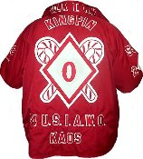Kappa Alpha Psi Customized Crossing Jacket