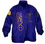 Omega Psi Phi Customized Crossing Jacket