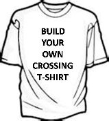 Customized Crossing Tee Shirt - Unlimited Lettering