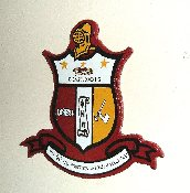 Kappa Alpha Psi Wall Crests