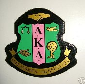 Alpha Kappa Alpha Wall Crests