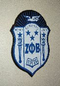 Zeta Phi Beta Wall Crests