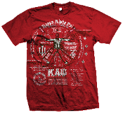 Kappa Alpha Psi Fraternity Blueprint Tee