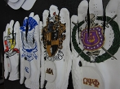 Fraternity Crest Golf Glove