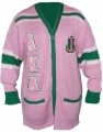 Alpha Kappa Alpha Old School Cardigan Sweater
