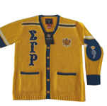 Sigma Gamma Rho Old School Cardigan Sweater