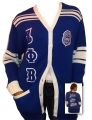 Zeta Phi Beta Old School Cardigan Sweater
